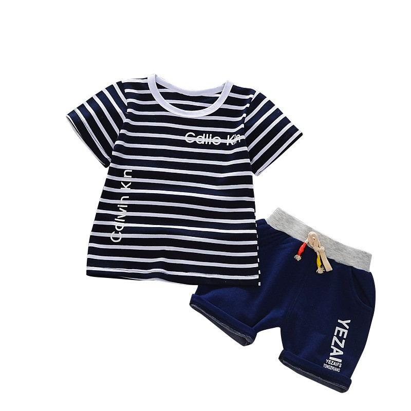 Short Pants Outfits Kids Baby Boy Toddler Summer Clothes Set Short Sleeve Tops